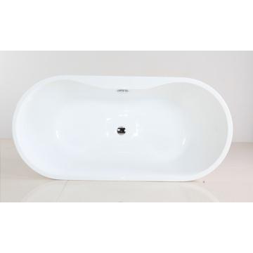 Bañera de hidromasaje de forma oval