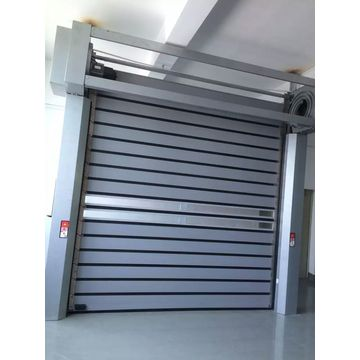 High Secure Aluminum Panel Rapid Spiral Door
