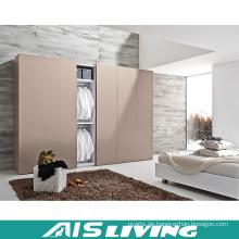 Home Möbelaufbewahrung Schiebetür Melamin Kleiderschrank (AIS-W318)
