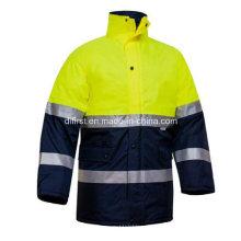 Куртка Светоотражающий жилет безопасности с карманами