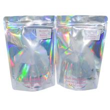 Holographic Mylar Zip lock Standup Bag