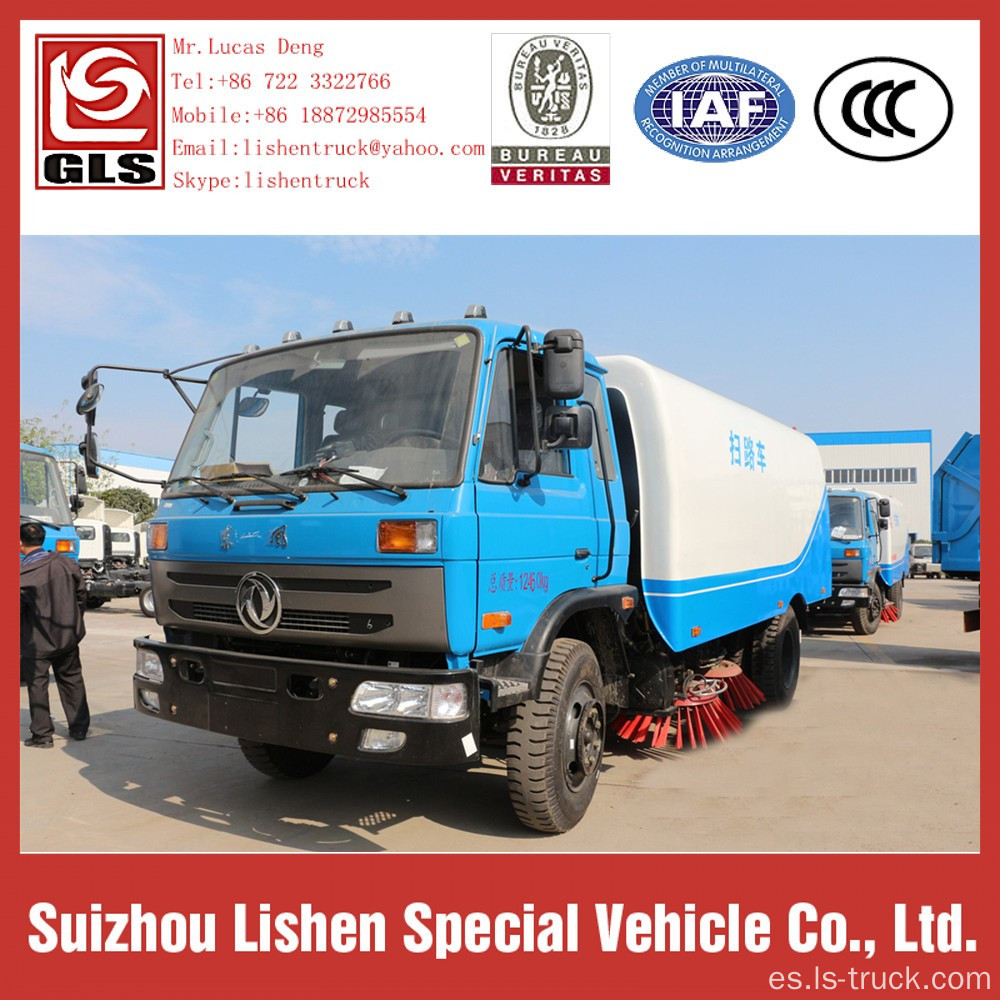 Diesel Engine Euro 2 Road Sweeper Truck