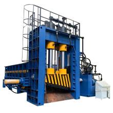 Cizalla de pórtico hidráulica automática para desechos de chatarra