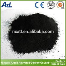 Poudre AC à base de charbon utilisé pour la purification de l'eau