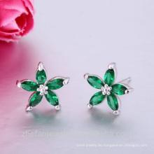 Earing Blume Ohr piercing Stollen billig Großhandel Ohrstecker