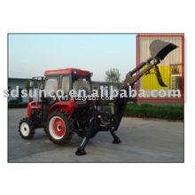 Pouce manuel sur le godet de rétrocaveuse pour tracteur agricole