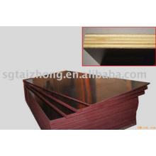 Pappel-Kern-Braun-Film-Sperrholz für den Bau