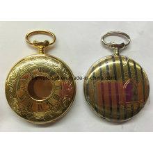 Reloj de bolsillo personalizado de la fábrica de relojes de China