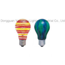 Color Coating Incandescent Bulb with 40W/60W/100W