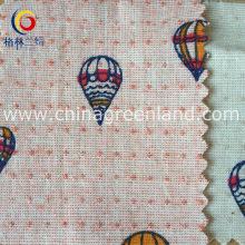 Garment Textile Printed Jacquard Fabric of Cotton (GLLML153)