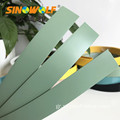 Ελεύθερο δείγμα 1,0 mm PVC Edge Banding Solid Edging