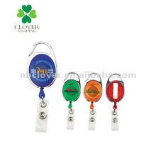 Kunststoff-Namensschildhalter mit Metallclip