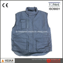 Winter Multi Pocket Keep Warm Fishing Quilted Vest