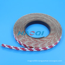 soft flexible rubber Peel and Stick Magnetic Strips