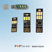 Smarttouch ou Light-Operated USB SMD LED Light (POPPAS-B40 / 41/42/43)