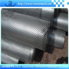 Treillis métallique déployé en acier utilisé dans le bâtiment civil