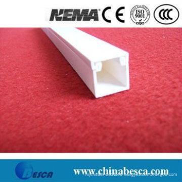 Conducto de cable de PVC blanco / gris (UL, SGS, IEC y CE)
