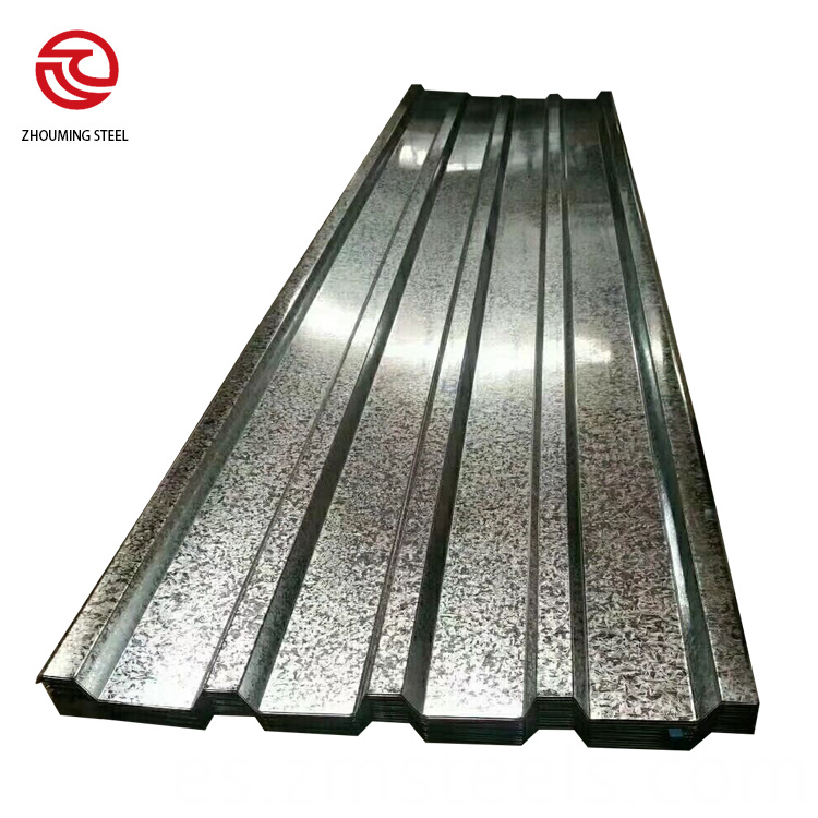Zinc Sheet Corrugated Color Tiles
