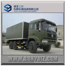 15t Dongfeng Van LKW 6X6 Kasten LKW