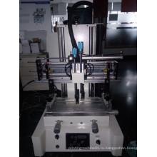 Дешевая трафаретная печатная машина для логотипа / электроники / реклама / реклама / упаковка