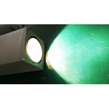 Aluminum double heads LED wall lamp outdoor