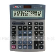 12-stellige Dual-Power-Tischrechner mit Dezimal- und Rundungsauswahl (CA1193)