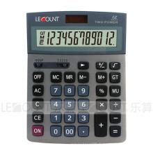 Calculatrice de bureau Dual Power de 12 chiffres avec sélection décimale et arrondis (CA1193)