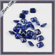 Красивый Прямоугольник Shape Octagon Blue Синтетический шпинель Gem