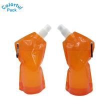 Embalagem líquida dos fornecedores de China para o doypack do suco de fruta com mosquetão