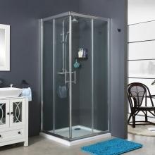 Cheap Corner Bathroom Shower Enclosure Room SlidingDoor