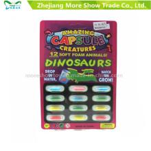 Magic Growing Dinasour Toys Animal Capsules Expanding Sponge Foam Capsule