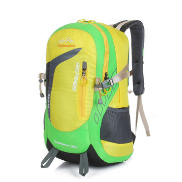 नायलॉन निविड़ अंधकार उच्च क्षमता multifunctional backpack