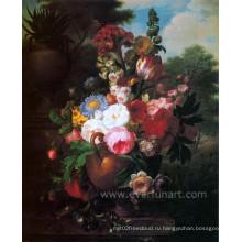 Классическая знаменитая цветочная живопись