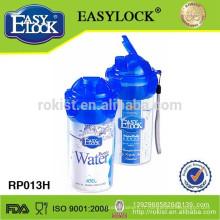 Bouteille d'eau en plastique sans BPA avec filtre 450ml