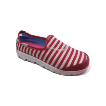 Slip-on Stripe Herren Canvas Schuhe