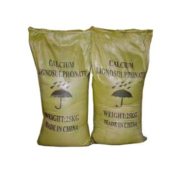 Lignosulfonato de calcio de grado de mezcla de concreto