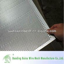 metal sheet hole punching