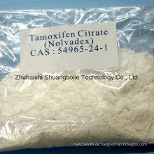 Anti-Estrogen-Steroid-Pulver Tamoxifen-Citrat für Knochenkrebs-Behandlung