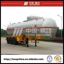 LPG tanque Transportable Semi remolque con alta seguridad para la venta