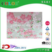 new desgin beautiful sakura transparency pp woven bag