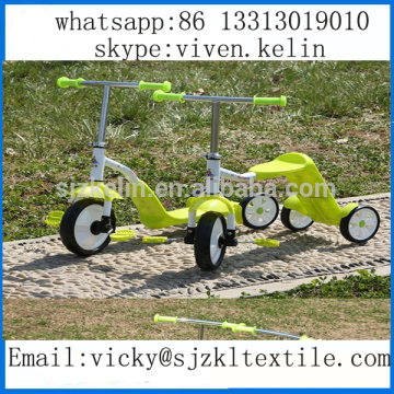 three wheel self balancing kids foot kick scooter 3 in1child kids toys