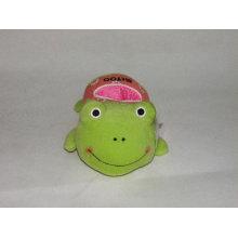 Plush frog titular de teléfono móvil