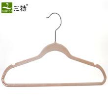 Crackle paint thin plastic hanger