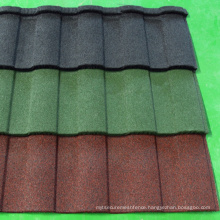 Stone Coated Roofing Tiles 0.35 to 0.5 mm thick