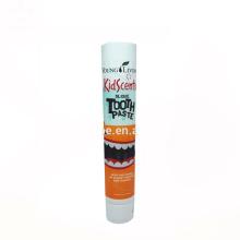 customized 120ml plastic screw cap toothpaste tube for sale