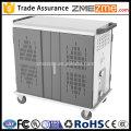 zmezme comércio assurancesteel armazenamento de tablet de gabinete de rede móvel e armário de carregamento