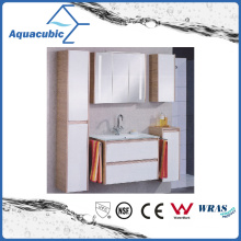 Double Drawers Bathroom Vanity Combo in White (ACF8917)
