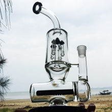 Winter Newest Design Black Glass Smoking Water Pipes (ES-GB-294)