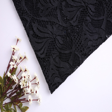 Elegante Matte Poly Milky Yarn Chemical Lace