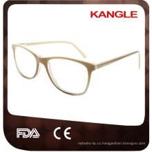 2017 Леди последние дизайн небольшой eyeshape, Размер ацетат оптические очки & очки очки